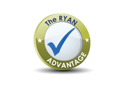 RYAN Business Systems Guarantees 100% Satisfaction, that's the RYAN advantage