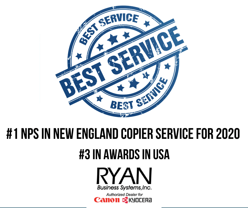 2020 NPS Score #1 in New England #3 in USA Awards