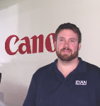 Jon Letendre, Field Technical Manager of RYAN Business Systems
